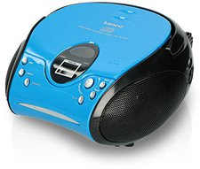 Lenco SCD-24 MP3 blau/schwarz