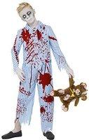 Smiffys Zombie Boy Pyjama Kostüm