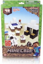 Jazwares Minecraft Papercraft Snow Biome Pack (48 Teile)
