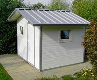 NWS Gartenhaus Satteldach 250 x 200 cm (Stahl)