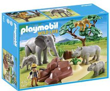 Playmobil Wild Life - African Savannah with Animals (5417)