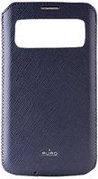Puro View Slim Essential Case blau (Samsung Galaxy S4)