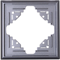Kopp Rahmen 1fach, anthrazit (309115065)