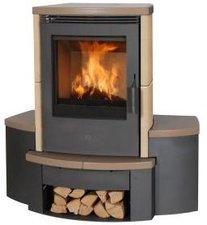 Fireplace Sitzbank für Kaminofen Passat Keramik Wandversion