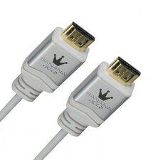 BananaGold Travel-Line HDMI High Speed mit Ethernet weiß (0,5m)