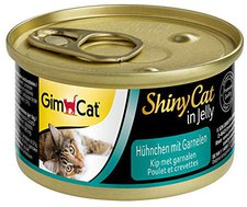 Gimpet Shiny Cat Hühnchen mit Garnelen (70 g)