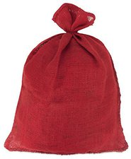 Windhager Jute-Sack Medium 60 x 80cm rot