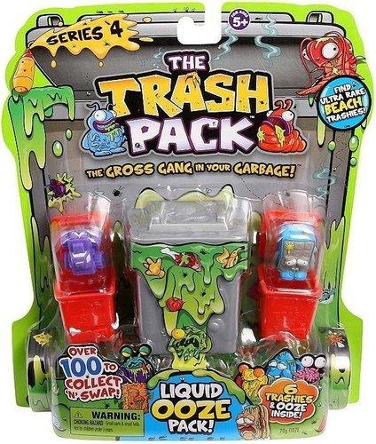 Giochi Preziosi Trash Pack Serie 4 - 5er Mülltonnen-Set