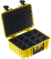 b-w Outdoor Case Typ 4000 incl. RPD gelb