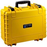 b-w Outdoor Case Typ 5000 leer gelb