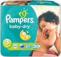 Pampers Baby Dry Midi Gr. 3 (4-9 kg) 36 Stück