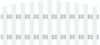 Brügmann TraumGarten Longlife Cara Zaunelement 180 x 70/80 cm