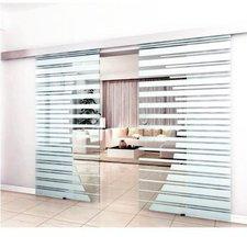 Home Deluxe Doppelglasschiebetür 2x90cm (DGST100x100)