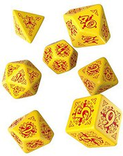 Q-Workshop Pathfinder: Legacy of Fire Dice Set (7)