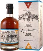 Peat's Beast Corriemhor Cigar Reserve 0,7l 46%