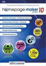 BHV Homepage Maker 10 Ultimate (DE) (Win)