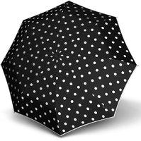 Knirps Fiber T2 Duomatic dot art black