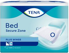 TENA Bed Krankenunterlagen Plus Wings 80 x 180 cm (20 Stk.)