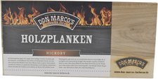Don Marco's Holzplanke Hickory
