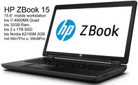 Hewlett Packard HP ZBook 15 (F0U67EA)