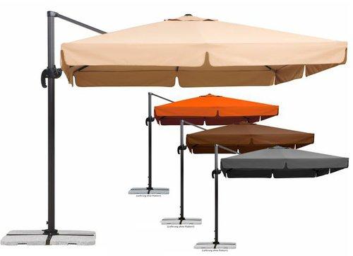 Schneider Schirme Rhodos 300 x 300 cm mocca