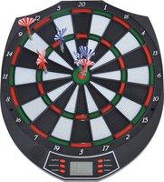 Homcom Elektronische Dartscheibe Soft Dart inkl. 6 Pfeile