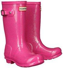 Hunter Boot Original Kids Glitter fuchsia