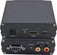 EFB Elektronik VC-170 VGA + Audio zu HDMI Converter