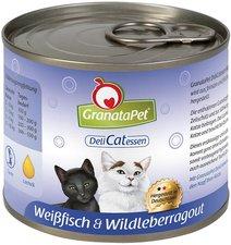 GranataPet DeliCatessen Weißfisch & Wildleberragout (400 g)