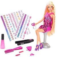 Barbie Haar Tattoo Barbie (BDB19)
