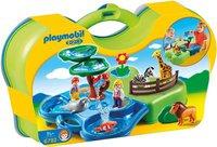 Playmobil 123 - Mein Plansch- und Zooköfferchen (6792)