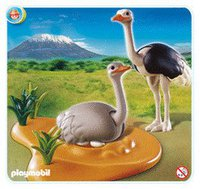 Playmobil 4831 Straußenpaar mit Nest