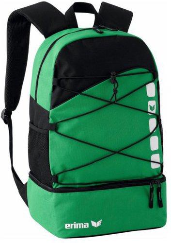 Erima Club 5 Multifunktionsrucksack mit Bodenfach smaragd