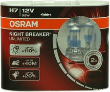 Osram Night Breaker Unlimited H7 Duo-Box