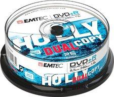 Emtec DVD+R DL 8,5GB 8x 25er Spindel ECOVPR85258CB