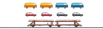 Trix Autotransportwagen Laekks 553 DB (15442)