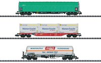 Trix Set 3 Wagen Gütertransport DB (15303)