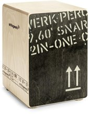 Schlagwerk 2inOne Cajon Medium Black Edition (CP 403 BLK)