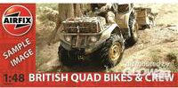 Airfix British Quad Bikes and Crew (04701)