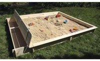 Promex Sandkasten Set Yanick mit Staukasten
