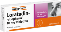 ratiopharm Loratadin 10 mg Tabletten