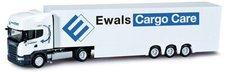 "Herpa Scania R TL Kofferdoppelstock-Sattelzug  ""Ewals Cargo Care "" (303187)"