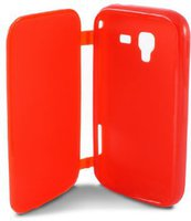 Ksix mobile tech Cover Flip (Galaxy Ace 2) Red