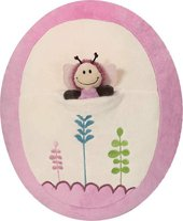 Nici Kissen mit 2D Schmetterling 39 x 32 cm