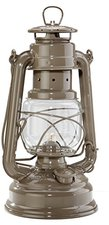Feuerhand Petroleumlampe Sturmlaterne (beigegrau)