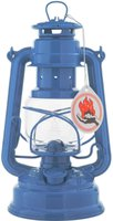 Feuerhand Petroleumlampe Sturmlaterne (enzianblau)