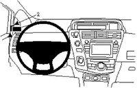 Brodit ProClip Toyota Prius+ Bj. ab 12