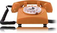 Opis 60s Cable Retrotelefon orange