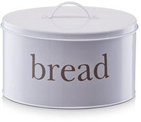 Zeller Bread Brotdose Metall weiß