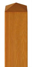 BM Massivholz vierkant Zaunpfosten BxH: 9 x 150 cm Lärche